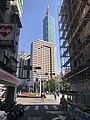 Taipei 101 & Grand Hyatt Taipei face to Keelung Road 20181203.jpg