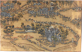 Taiping break out of the Qing encirclement at Fucheng.jpg