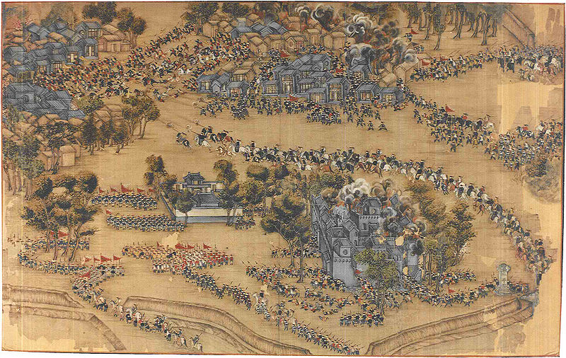 Fichier:Taiping break out of the Qing encirclement at Fucheng.jpg