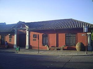 Alberto Valenzuela Llanos - Image: Talca Museo