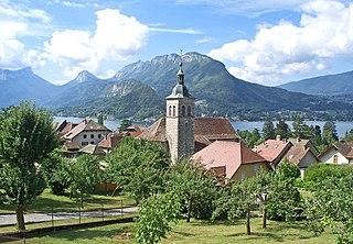 Talloires-Montmin Commune in Auvergne-Rhône-Alpes, France
