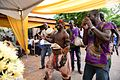 Tamale dancer with his musical crew.jpg