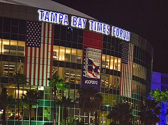 2012 Republican National Convention - Tampa Bay Times Forum during the RNC