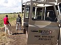Tan-Swiss Land Rover with Gerard and Samuel - Driver and Guide - Mikumi National Park - Tanzania (8892082469).jpg