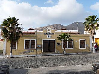Tarrafal, Cape Verde (municipality) - Municipal hall of Tarrafal