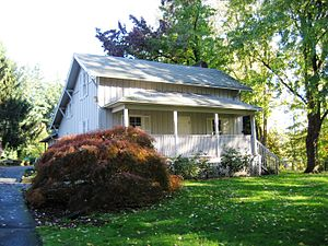 Wilsonville, Oregon - Tauchman House at Boones Ferry Park