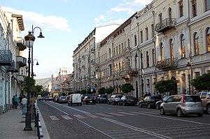 David Agmashenebeli Avenue - Image: Tbilisi (9458112761)