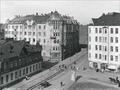 Tehtaankadun ja Kapteeninkadun risteys 1908 I K Inha.png