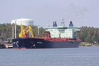 <i>La Noumbi</i> Floating production storage and offloading unit operated by Perenco
