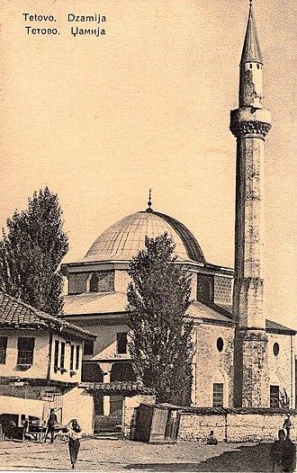 Tetovo Municipality - Image: Tetovo, razglednica, 1930
