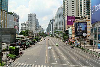 Watthana District Khet in Bangkok, Thailand