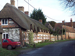 Thatched Cottages at West Amesbury - geograph.org.uk - 311650.jpg