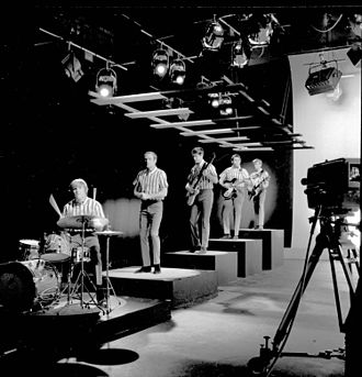 The Beach Boys live performances - The Beach Boys' original lineup performing in 1964