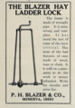 The Blazer Hay Ladder Lock - P.H. Blazer and Co - Minerva Ohio - 1915 advertisement.tiff