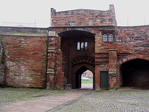 Listed buildings in Carlisle, Cumbria - Image: The Captain's Tower, Carlisle Castle geograph.org.uk 1087558