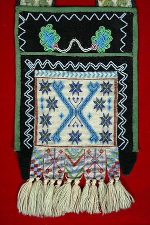 Bandolier bag - Image: The Childrens Museum of Indianapolis Bandolier bag detail