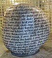 The Cursing Stone at Tullie House Museum, Carlisle. Monition of Cursing.jpg