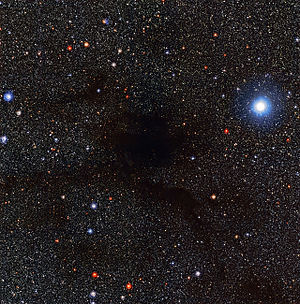 Dark nebula - Image: The Dark Cloud Lupus 4