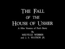 Archivo:The Fall of the House of Usher, 1928.ogv