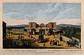 The Foundling Hospital, Holborn, London; a bird's-eye view o Wellcome V0013446.jpg
