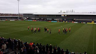 The Hive Stadium - Image of the Hive stadium in 2014