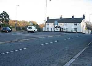 Cefn-y-bedd - Image: The Hollybush at Cefn y Bedd geograph.org.uk 283034