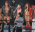 The Kingdom IWGP Tag Team Champions with Maria Kanellis.JPG