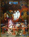 The Lady of Shalott by William Holman Hunt, c. 1890-1905, oil on canvas - Wadsworth Atheneum - Hartford, CT - DSC05541.jpg