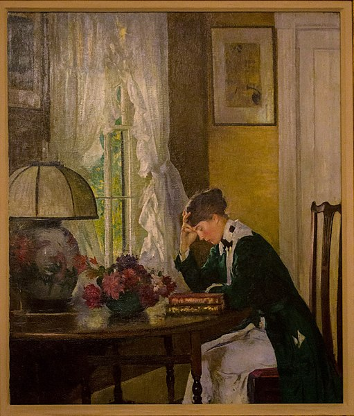 File:The Letter by Edmund Tarbell.jpg