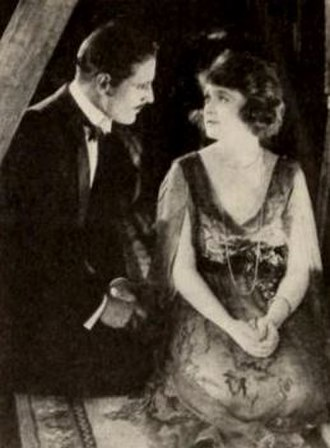 The Make-Believe Wife - Still with David Powell and Billie Burke
