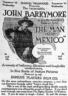 <i>The Man from Mexico</i> 1914 film