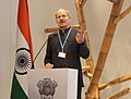 The Minister of State for Environment, Forest and Climate Change (Independent Charge), Shri Anil Madhav Dave addressing at the inauguration of the India Pavilion at the Conference of Parties - COP 22, at Marrakesh, Morocco.jpg