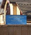 The Parish Church of St Etheldreda, Sign - geograph.org.uk - 1569854.jpg
