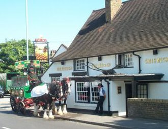 Norwood Green - Image: The Plough at Norwood Green