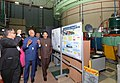 The President, Shri Ram Nath Kovind visiting an exhibition on Department of Atomic Energy (DAE) technologies at Bhabha Atomic Research Centre (BARC), in Trombay, Mumbai.JPG