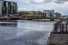 The River Liffey At Tara Street Station - panoramio.jpg