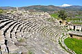 The Roman theatre, built in the second half of the 1st century BC on the eastern slope of the acropolis, Aphrodisias, Caria, Turkey (18519888782).jpg