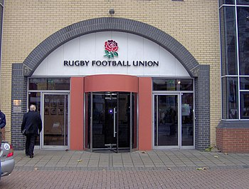 English: The Rugby Football Union Headquarters