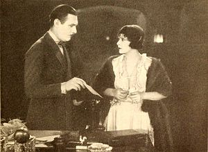 The Sign on the Door - Film still with Cody and Talmadge