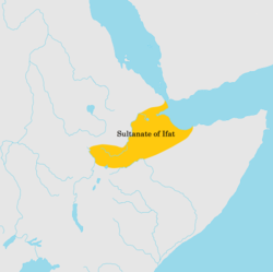 The Ifat Sultanate in the 14th century.