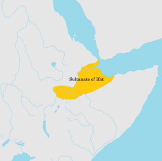 Sultanate of Ifat medieval Muslim Sultanate in the Horn of Africa