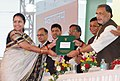 "The Union Minister for Agriculture and Farmers Welfare, Shri Radha Mohan Singh presented the awards at the inauguration of the ""Krishi Unnati Mela, 2017"", in New Delhi.jpg"