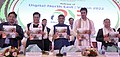 The Union Minister for Electronics & Information Technology and Law & Justice, Shri Ravi Shankar Prasad releasing the Vision Document of Digital North East - 2022, at Guwahati.JPG