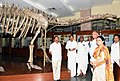 The Vice President, Shri M. Venkaiah Naidu visiting the Geology Museum, during the closing ceremony of 125th Birth Anniversary of Prof. P.C. Mahalanobis and the 12th Statistical Day celebration, in Kolkata (1).JPG