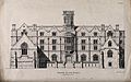 The Wesleyan College, Horseferry Road, Westminster. Lithogra Wellcome V0013861.jpg