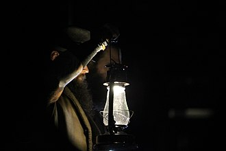 The Wyatt Family - The group's signature entrance through darkness