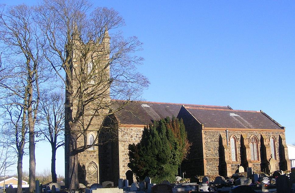 The church of St. Gobhan - Seagoe parish church, Portadown