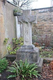The grave of William Lindsay FRSE, South Leith Parish Churchyard.jpg
