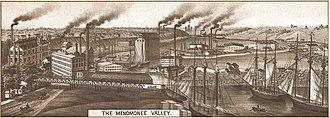 Menomonee Valley - Menomonee Valley in 1882
