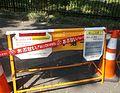 The notice of dengue fever at yoyogi park tokyo 2014.jpg